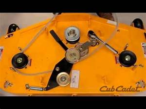 Cub Cadet Rzt 50 Belt Diagram : how to change the deck belt on a cub cadet zero turn using ~ A.2002-acura-tl-radio.info Haus und Dekorationen