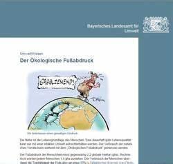 ökologischer Fußabdruck Deutschland : kologischer fu abdruck klimaallianz bamberg ~ Lizthompson.info Haus und Dekorationen