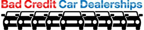 bad credit car dealerships