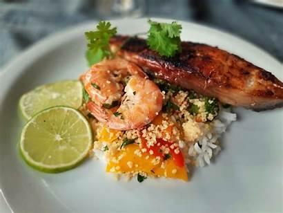 Couscous Fish Shrimp Shrimps Vegetable Wallpapers 4k