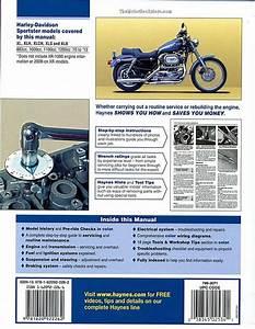 Harley Sportster 883  1000  1100  1200 Repair Manual 1970
