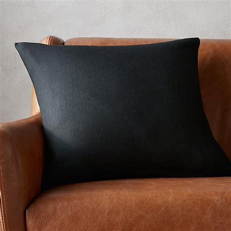 black linen pillow cb