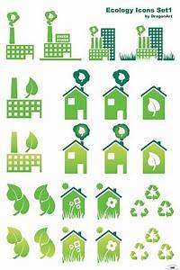 25 vectores sobre ecología, entre ellos el famoso logo de ...
