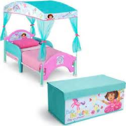 delta children canopy toddler bed nick jr dora the