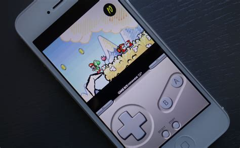 gameboy on iphone app with boy advance emulator sneaks into the