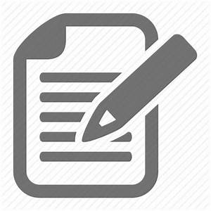Article, blog, document, edit, pencil, post, write icon ...