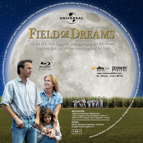 field  dreams dvd covers bluray covers  cover art
