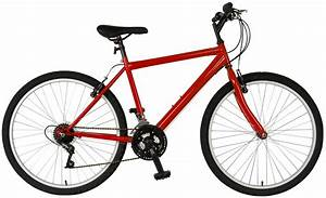 "Cycle Force 26"" Rigid Mens 18 Speed Mountain Bike"