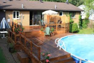 above ground pool decks pool contemporary with berkshire pool cable railing beeyoutifullife
