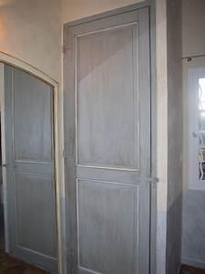 Porte Interieur Grise : meubles anciens relook s home staging lydia russo ~ Mglfilm.com Idées de Décoration