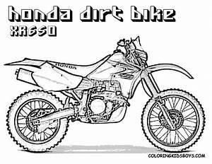 honda clipart honda dirt bike pencil and in color honda With honda mini bikes