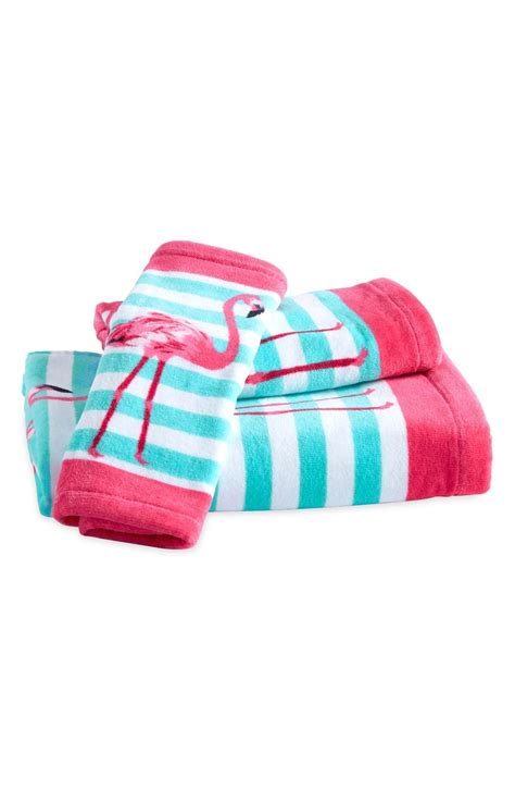 pink bathroom towel set pink flamingo towel set everything turquoise