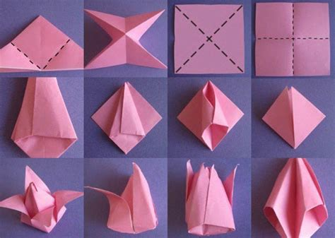 einfache origami figuren mit origami papier basteln die beste origami faltanleitung archzine net