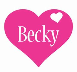 Image result for Becky Word Clip Art