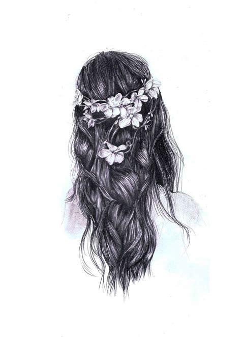 Girl Hair Drawing Beautiful Tumblr Drawing Hipster Hair Tumblr