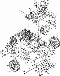 721d2 Tractor Assembly 2004 Grasshopper Mower Parts