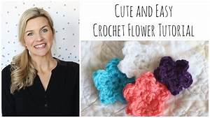 Cute Easy Crochet Flower Tutorial