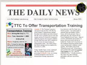 fresh newsletter templates google docs pikpaknews free With google docs newspaper template student