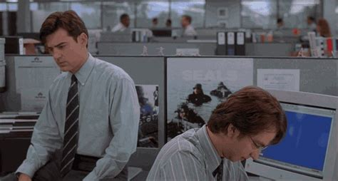 Office Space Hell No Gif by Office Space Gifs Milton Printer Traffic And Other 115