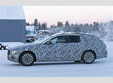 New Mercedes EClass Wagon Spied, AllTerrain JackedUp
