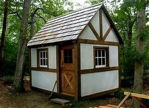Backyard building plans for workshop studio garden shed for Backyard buildings and more