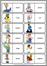 jobs esl vocabulary worksheets