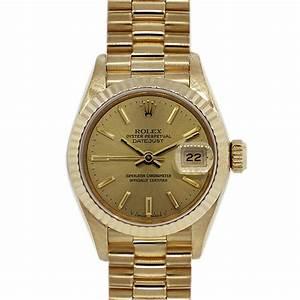 Rolex 6917 18k Yellow Gold Ladies Presidential Watch