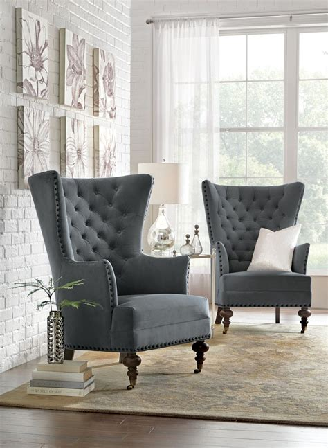 accent chairs   sophisticated space decoration