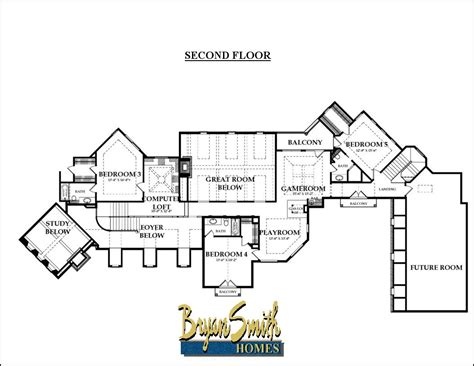 country floor plans hill country plan 6782