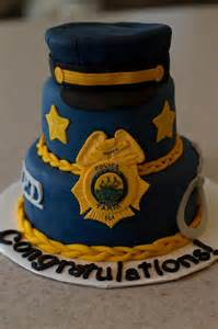 Police Officer Birthday Cake