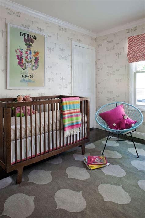 Pink And Grey Nursery Rug by A Modern Nursery
