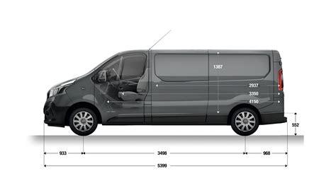 renault trafic l2h1 dimensions et moteurs trafic petit fourgon utilitaire