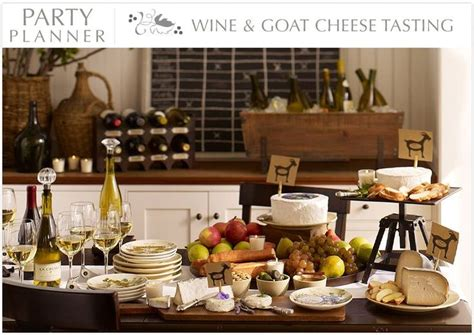 Wine And Cheese Flight-links To Pottery Barn Site With