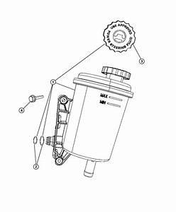 2008 Dodge Ram 2500 Screw  Seal  Seal Kit  Power Steering