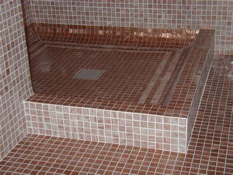 Piatto Doccia Mosaico by Rivestimento Doccia Mosaico Un82 Pineglen