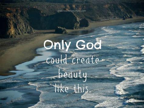 god  create  beauty   ocean  beach