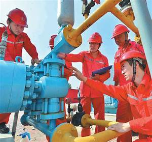 technicians from sinopec check oil storage facilities in ...