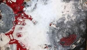 Acrylfarben Auf Holz : bild acrylfarbe auf holz schwarz wei grau von margarita sch n bei kunstnet ~ Orissabook.com Haus und Dekorationen