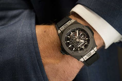 the pics new hublot on the hublot big meca 10 for when one power