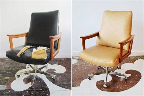 office chairs how to reupholster an office chair