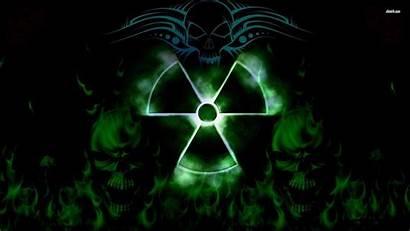 Toxic Wallpapers Biohazard Mask Symbol Sign Skulls