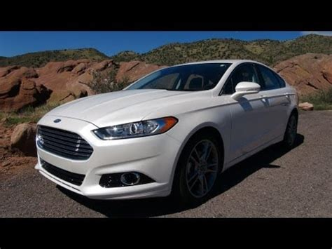 Ford Fusion 0 60 by 2013 Ford Fusion Titanium Drive 0 60 Mph Review