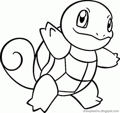 Squirtle Kleurplaat squirtle coloring pages coloring home