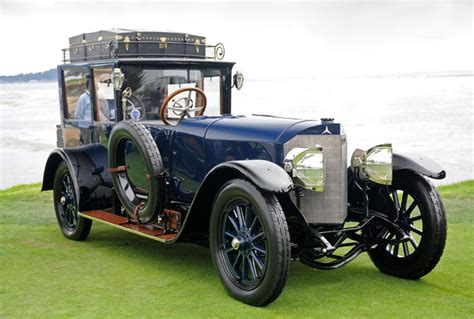 Automobile classics shows short clips of cars taken at international automobile shows. Mercedes 1889-30