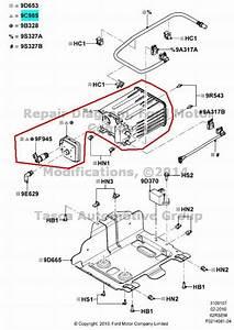 New Oem Fuel Vapor Canister Econoline F250 F350 F450 F550