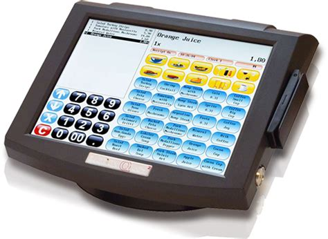 Kassensystem Mit Touchscreen