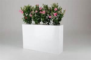 Blumenkübel Als Raumteiler : 2er set raumteiler aus fiberglas elemento 117 cm wei ~ Michelbontemps.com Haus und Dekorationen