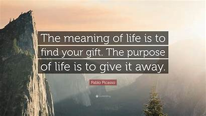Meaning Gift Purpose Give Picasso Pablo Away