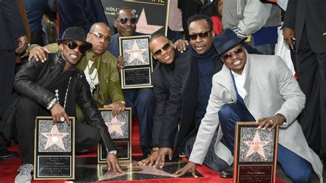 New Edition  Hollywood Walk Of Fame Ceremony Youtube