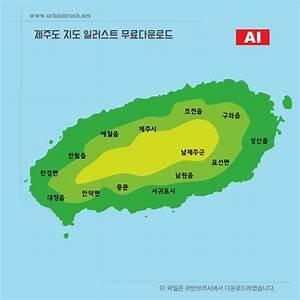 Ai Jeju Map Illustration Urbanbrush